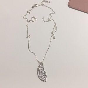 Pandora Butterfly Pendant Necklace